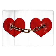 Unbreakable Love Concept Samsung Galaxy Tab 10 1  P7500 Flip Case by dflcprints
