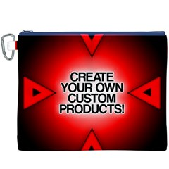 Create Your Own Custom And Unique Products Canvas Cosmetic Bag (XXXL) by TheGreatGiftShop