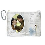 Our Love Canvas Cosmetic Bag (XL)