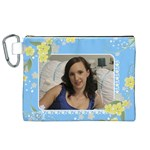 Sunny Canvas Cosmetic Bag (XL)