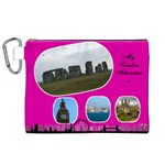 My London 2 Canvas Cosmetic Bag (XL)