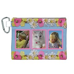 My Little Princess Canvas Cosmetic Bag (xl) By Deborah   Canvas Cosmetic Bag (xl)   Sfkim3p1udx8   Www Artscow Com Front
