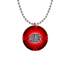 Create Your Own Custom Products And Gifts Button Necklace by UniqueandCustomGifts