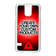 Create Your Own Custom Products And Gifts Samsung Galaxy S5 Case (white) by UniqueandCustomGifts
