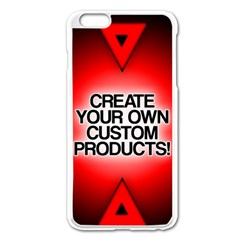 Create Your Own Custom Products And Gifts Apple Iphone 6 Plus Enamel White Case by UniqueandCustomGifts