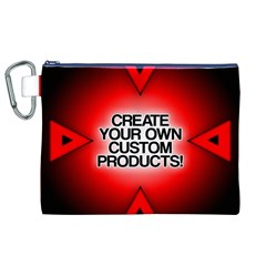 Create Your Own Custom Products And Gifts Canvas Cosmetic Bag (XL) by UniqueandCustomGifts