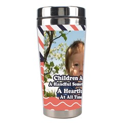 Kids By Kids   Stainless Steel Travel Tumbler   Sd2adjie1381   Www Artscow Com Left