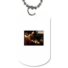 Abraham Dog Tag (two Sided)  by RembrandtRowe