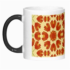 Colorful Floral Print Vector Style Morph Mug by dflcprints