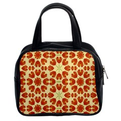 Colorful Floral Print Vector Style Classic Handbag (Two Sides) by dflcprints