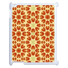 Colorful Floral Print Vector Style Apple Ipad 2 Case (white) by dflcprints