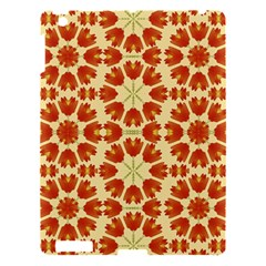 Colorful Floral Print Vector Style Apple iPad 3/4 Hardshell Case by dflcprints