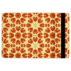 Colorful Floral Print Vector Style Apple iPad Air 2 Flip Case