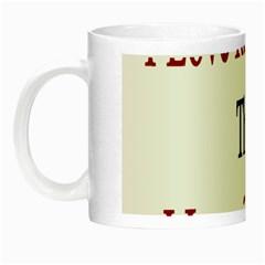 I Love Russia More Than I Love Chocolate Glow In The Dark Mug