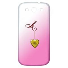 A Golden Rose Heart Locket Samsung Galaxy S3 S Iii Classic Hardshell Back Case by cherestreasures