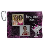 Party time Canvas Cosmetic Bag (XL)