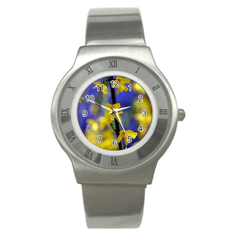 By Mary Freeman   Stainless Steel Watch   Yo51jej876v6   Www Artscow Com Front