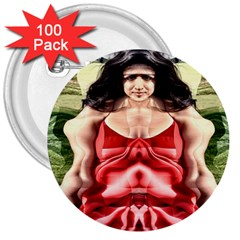 Cubist Woman 3  Button (100 pack) by icarusismartdesigns