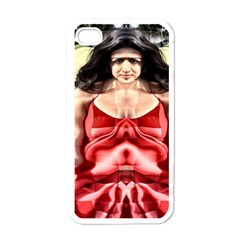 Cubist Woman Apple Iphone 4 Case (white) by icarusismartdesigns