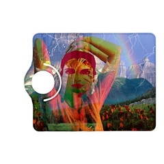 Fusion With The Landscape Kindle Fire Hd (2013) Flip 360 Case by icarusismartdesigns