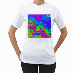 Seaside Holiday Women s T Shirt (white)  by icarusismartdesigns
