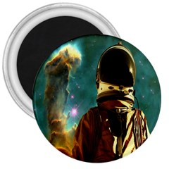 Lost In The Starmaker 3  Button Magnet by icarusismartdesigns