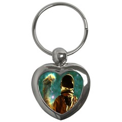 Lost In The Starmaker Key Chain (heart) by icarusismartdesigns
