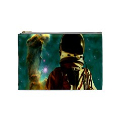 Lost In The Starmaker Cosmetic Bag (medium) by icarusismartdesigns