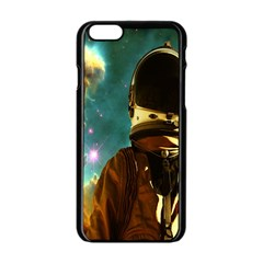 Lost In The Starmaker Apple Iphone 6 Black Enamel Case by icarusismartdesigns