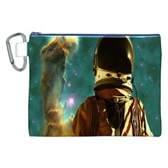 Lost In The Starmaker Canvas Cosmetic Bag (xxl) by icarusismartdesigns