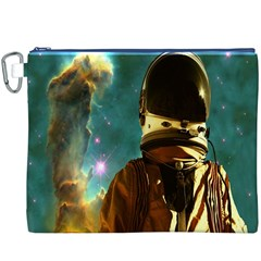 Lost In The Starmaker Canvas Cosmetic Bag (xxxl) by icarusismartdesigns