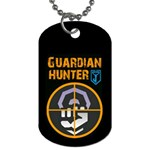 Ingress Guardian Hunter tags - Dog Tag (Two Sides)
