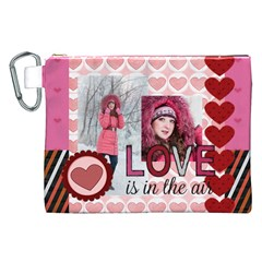 Love By Ki Ki   Canvas Cosmetic Bag (xxl)   Ptez9yojgj8o   Www Artscow Com Front