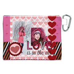 Love By Ki Ki   Canvas Cosmetic Bag (xxl)   Ptez9yojgj8o   Www Artscow Com Back
