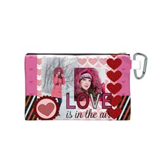 Love By Ki Ki   Canvas Cosmetic Bag (small)   Ukubxk1puvt8   Www Artscow Com Back
