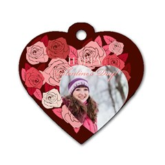 Love By Ki Ki   Dog Tag Heart (two Sides)   Lqy5o6xp0c9x   Www Artscow Com Front