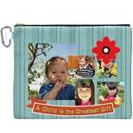 kids - Canvas Cosmetic Bag (XXXL)