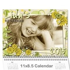Lidas Calendar By Kaye   Wall Calendar 11  X 8 5  (12 Months)   5o8szxbjfgk0   Www Artscow Com Cover
