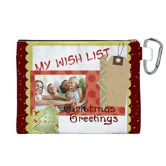 Xmas By Joy   Canvas Cosmetic Bag (xl)   2nrd8dufukz2   Www Artscow Com Back