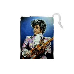 His Royal Purpleness Drawstring Pouch (Small) by retz