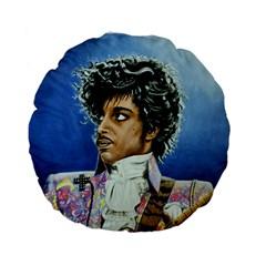 His Royal Purpleness 15  Premium Round Cushion  by retz