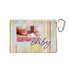 Baby By Baby   Canvas Cosmetic Bag (medium)   06wc5njwkys5   Www Artscow Com Back