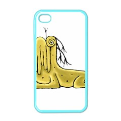 Fantasy Cute Monster Character 2 Apple Iphone 4 Case (color) by dflcprints