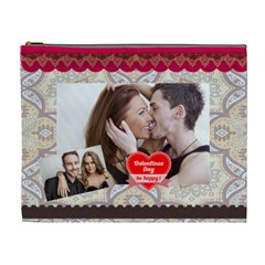 Love By Love   Cosmetic Bag (xl)   Rz2gsui2jbrw   Www Artscow Com Front