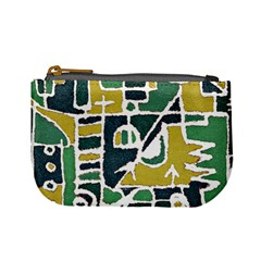 Colorful Tribal Abstract Pattern Coin Change Purse by dflcprints