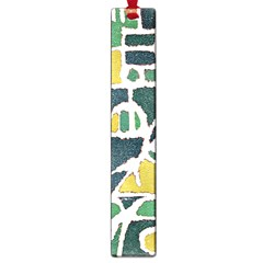Colorful Tribal Abstract Pattern Large Bookmark by dflcprints