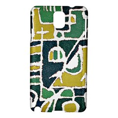 Colorful Tribal Abstract Pattern Samsung Galaxy Note 3 N9005 Hardshell Case by dflcprints