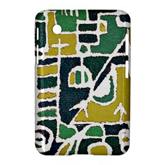 Colorful Tribal Abstract Pattern Samsung Galaxy Tab 2 (7 ) P3100 Hardshell Case  by dflcprints