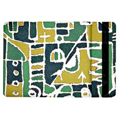Colorful Tribal Abstract Pattern Apple Ipad Air Flip Case by dflcprints