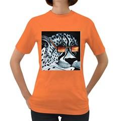 Cool Cat Women s T-shirt (Colored) by JUNEIPER07